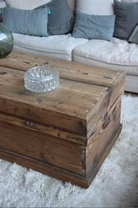 Table Basse Malle : malle table basse petite belette ~ Melissatoandfro.com Idées de Décoration
