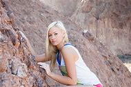 Sierra Blair-Coyle Rock Climbing