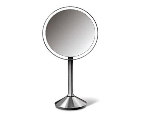 simplehuman vanity mirror simplehuman 6 5 inch sensor mirror sensor activated