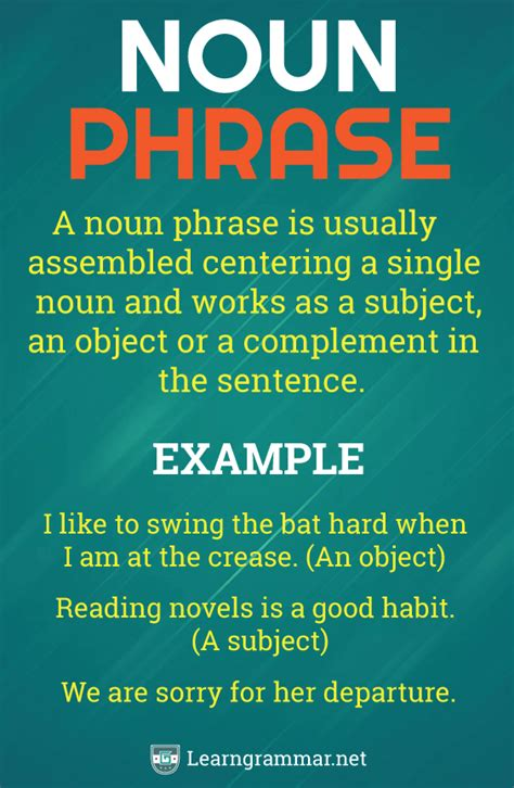It usually starts with words such as 'that, what, whatever, who, whom, whoever, whomever'. #Noun #Phrase   English vocabulary words, Nouns, Prepositional phrases