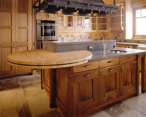 comptoir cuisine bois meuble de cuisine en bois comptoir