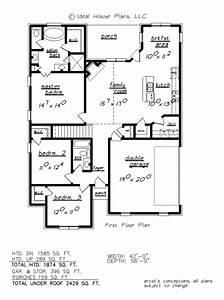 Plan, 32, U2013, Ideal, House, Plans