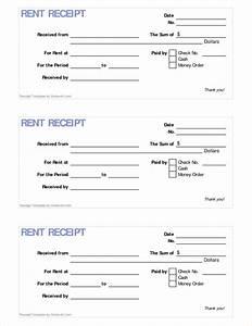 rental receipt template free hardhostinfo With printable receipt