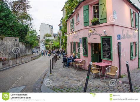 la maison restaurant a parigi immagine editoriale immagine 48526375
