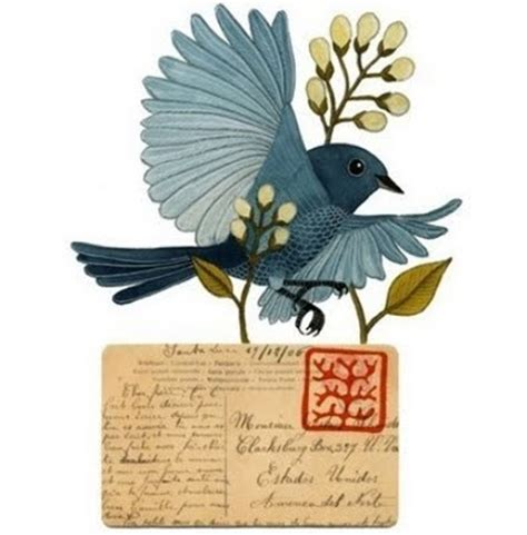 6 letter bird letter writers alliance bird on a postcard 42277
