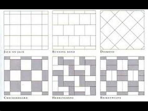 tile installation patterns for floors floor tile patterns tile flooring patterns and layouts youtube
