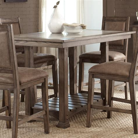 Stone Ridge Casual Cement Top Kitchen Island Table