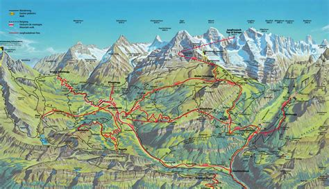 hiking map   berner oberland rick steves travel forum