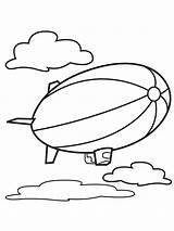 Air Coloring Pages Balloons Balloon Printable sketch template