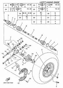 Wiring Diagram  31 Yamaha Grizzly 700 Parts Diagram