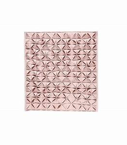 tapis de bain design 100 coton origami rose dragee aquanova With tapis carré design