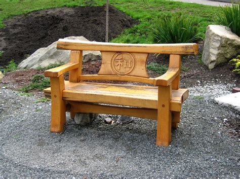 japanese timber bench trc timberworks garden bench plans