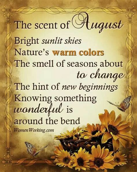 August | August month quotes, August images, August quotes