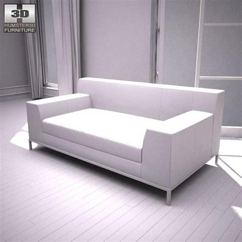 ikea kramfors two seat sofa 3d model hum3d