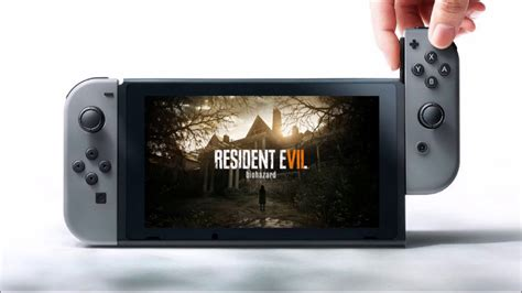 Resident Evil For Switch Resident Evil 7 Coming To The Nintendo Switch Youtube