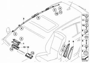Bmw X1 Side Airbag  Front Left Seat  System  Electrical