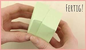 Quadratische Schachtel Falten : origami schachtel mit deckel falten einfach sch n frau friemel ~ Eleganceandgraceweddings.com Haus und Dekorationen