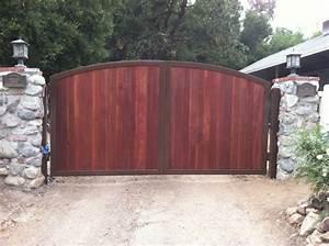 Wooden Driveway Gates Installation Repair Los Angeles