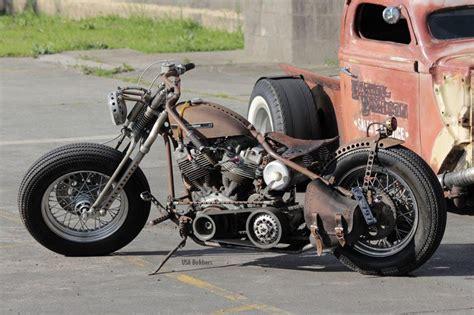 Harley Davidson Bobber Motorcycle