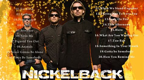 best nickelback songs nickelback best songs nickelback the collection album