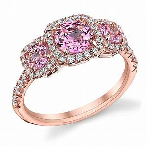 Pink diamond engagement rings simply the best when one for Pink diamond wedding rings