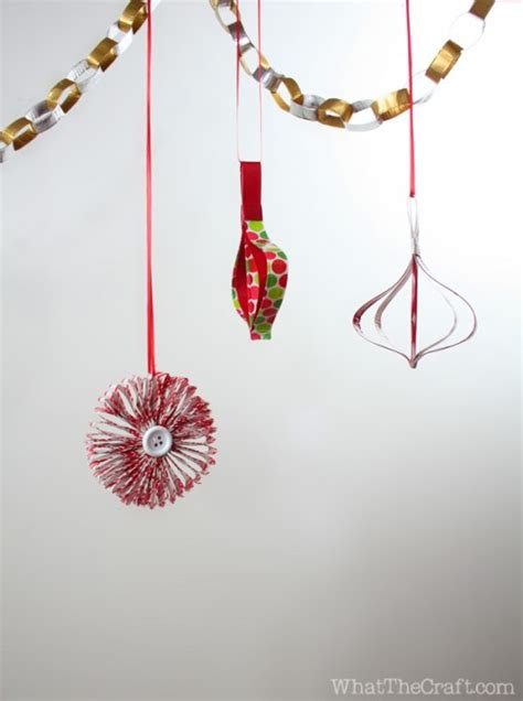 how to make a retro holiday ornament out of duck tape