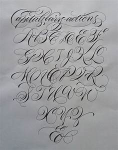 85 best images about calligraphy | alphabets on Pinterest ...
