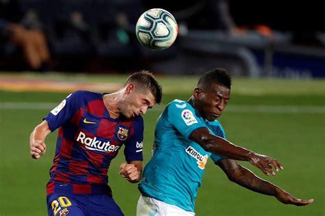 Barcelona perdió en el Camp Nou y quedó sin opciones de ...