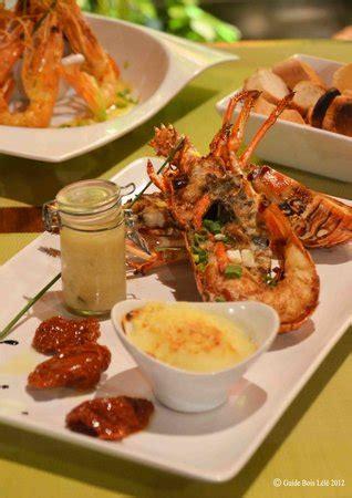 cuisine langouste plancha spécialité langouste a la plancha photo de coco