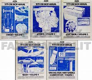 1979 Ford Ranchero  Ltd Ii And Cougar Wiring Diagram Original