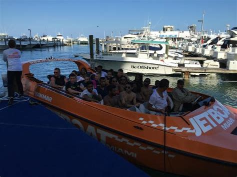 Jet Boat Miami by The Bosnian Ambassador To The United States With
