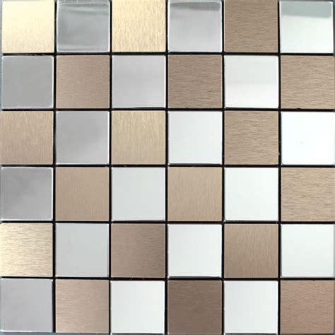 kitchen backsplash stainless steel tiles metal tile backsplash kitchen stainless steel tiles square