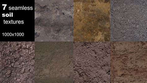 Texture Other soil textures seamless