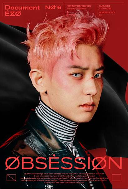 Exo Obsession Teaser Concept Chanyeol Poster Kpop