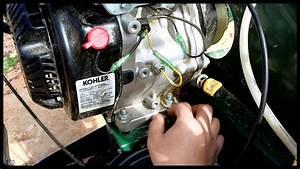 Kohler Ch395 Oil Change Command Pro 9 5hp Woodland Mills
