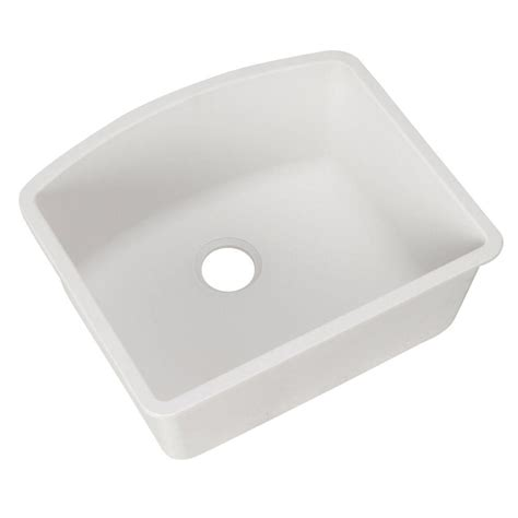 white undermount kitchen sinks single bowl blanco undermount granite composite 24 in single 2116