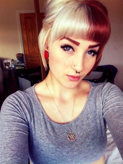 Best 25 Dyed Bangs Ideas On Pinterest Ombre Hair Dye