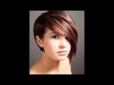 short hairstyles for faces 2015 youtube