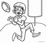 Coloring Football Printable Player Sheets Cool2bkids Whitesbelfast Clipartmag Zombie Drawing sketch template
