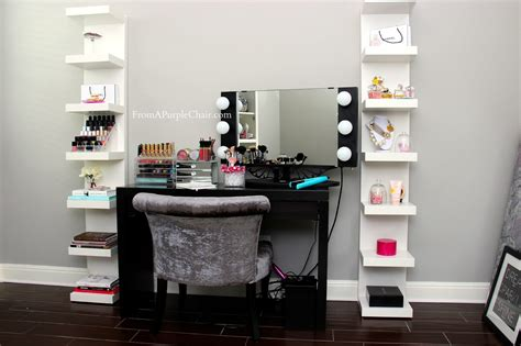 black makeup vanity table with lighted mirror small black makeup vanity table set with lighted mirror
