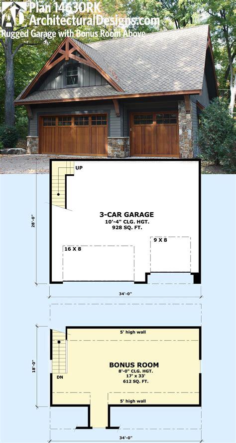 plan rk rugged garage  bonus room  room  garage carriage house garage
