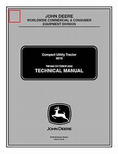 John Deere 4010 Compact Utility Tractor Tm1983 Pdf Manual