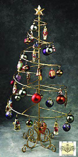 christmas ornament holders ornament trees spiral wire ornament tree 4 foot ornament display trees