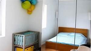 Aménager Chambre Bébé Dans Chambre Parents : amenagement petite chambre parent bebe avec ~ Zukunftsfamilie.com Idées de Décoration