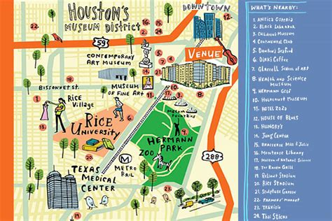 Amsterdam Museum District Map by Map Of Houston Museum District Studententv