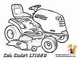 Coloring Deere John Pages Tractor Mower Lawn Printable Colouring Sheets Cadet Cub Garden Tractors Colour Unique Clip Bossy Bold Cartoon sketch template