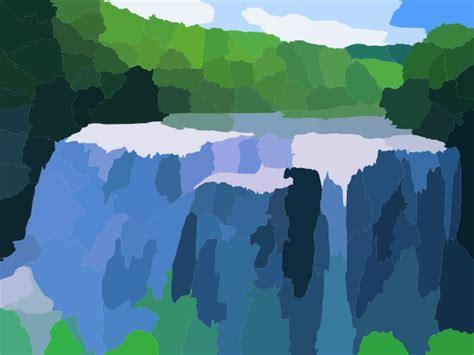 Big Waterfall Clip Art At Clker.com