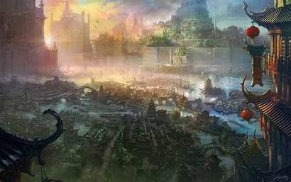 Ancient Chinese Painting Wallpapers Fantasy Imperial Li