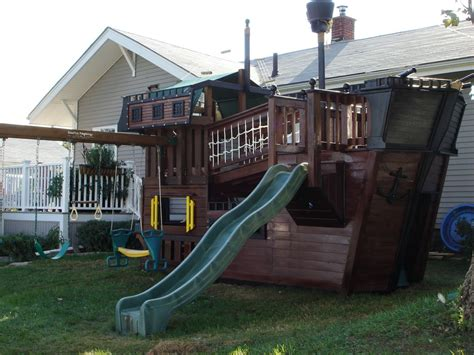 backyard pirate ship plans build diy diy pirate ship playhouse plans plans wooden how
