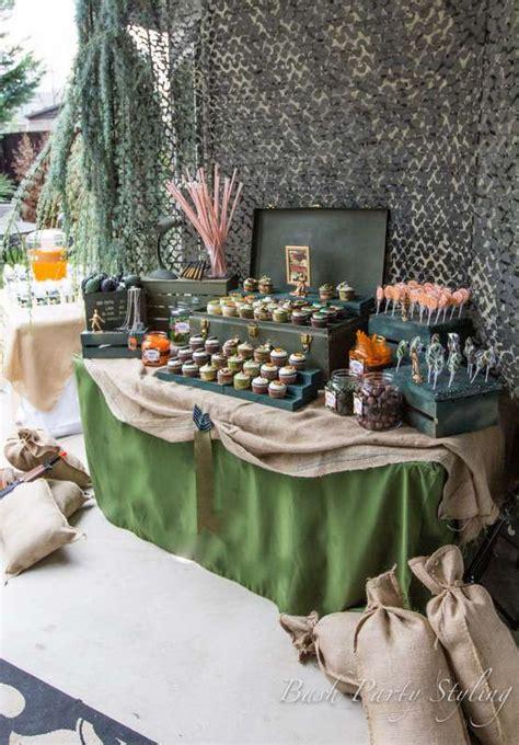 Military, Nerf, Camo Birthday Party Ideas Feedpuzzle